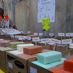 Marché : Soap at Bonnieux Market by patrickd80 - Bonnieux 84480 Vaucluse Provence France