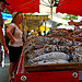 Marché : Saucisson at Bonnieux Market par patrickd80 - Bonnieux 84480 Vaucluse Provence France