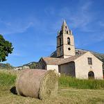 Paysage traditionnel de Tartonne par  - Tartonne 04330 Alpes-de-Haute-Provence Provence France