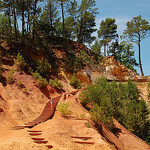 Les Ocres de Rousillon : Colorado provençal par Gatodidi - Roussillon 84220 Vaucluse Provence France