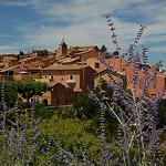 Village de Rousillon par Gatodidi - Roussillon 84220 Vaucluse Provence France