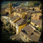 Les toits de Moustiers Sainte Marie par  - Moustiers Ste. Marie 04360 Alpes-de-Haute-Provence Provence France