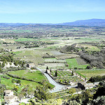 Vue sur la vallée depuis Gordes by L_a_mer - Gordes 84220 Vaucluse Provence France