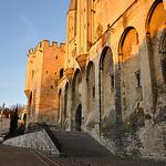Entrée du Palais des Papes d'Avignon by Laurent2Couesbouc - Avignon 84000 Vaucluse Provence France
