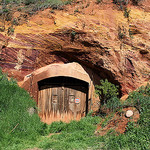 Roussilon had some very fine doors. by Vital Nature - Roussillon 84220 Vaucluse Provence France