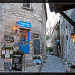 Les Baux de Provence by  - Roussillon  provence Provence France