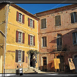 Roussillon by  - Roussillon  provence Provence France