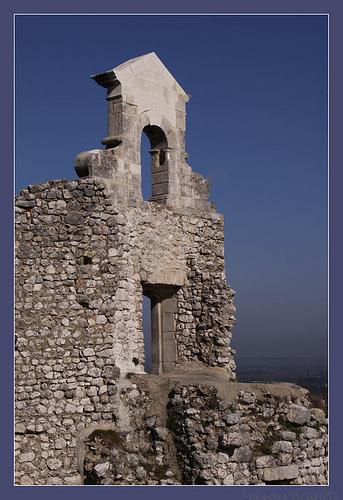 Ruines par Brigitte Mazéas