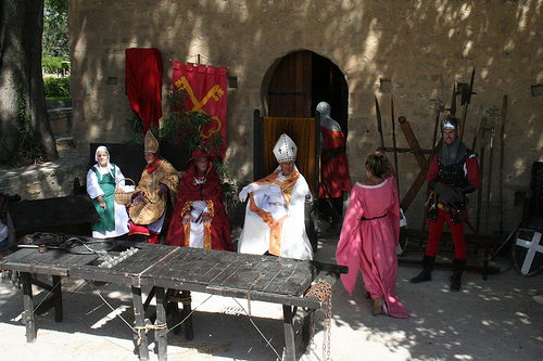 Fête de la Véraison à Chateauneuf du Pape par Aurélien Calay