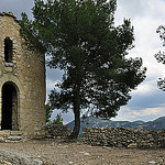 Chapelle Saint Christophe by  - Lafare 84190 Vaucluse Provence France
