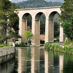 Aqueduc de Galas par  - Fontaine de Vaucluse 84800 Vaucluse Provence France