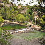 La Sorgue à Fontaine de Vaucluse by L_a_mer - Fontaine de Vaucluse 84800 Vaucluse Provence France
