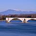 Le pont d'Avignon et le Mont-Ventoux by Laurent2Couesbouc - Avignon 84000 Vaucluse Provence France