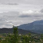 Vaison la Romaine : vue sur le Ventoux par L_a_mer - Vaison la Romaine 84110 Vaucluse Provence France