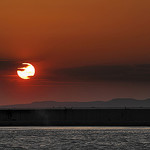 Couché de soleil sur l'étang de Berre par DDenjeanMassia - Berre l'Etang 13130 Bouches-du-Rhône Provence France