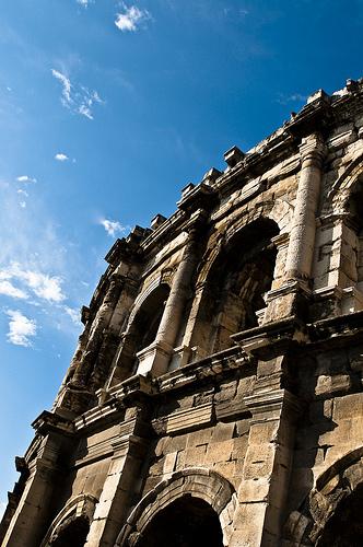 Théâtre romain de Nimes by www.photograbber.de
