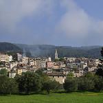 Vue sur le village de Callas by ptit fauve - Callas 83830 Var Provence France