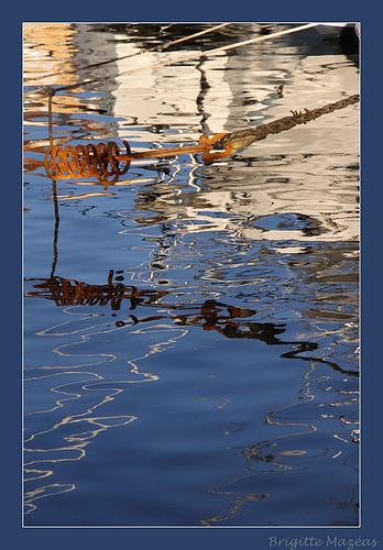 Reflets à Sanary par Brigitte Mazéas