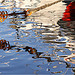 Reflets en couleurs sur mer d'huile par Brigitte Mazéas - Sanary-sur-Mer 83110 Var Provence France