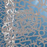 Statue à Antibes : Un ciel... de lettres par brunomdl - Antibes 06600 Alpes-Maritimes Provence France