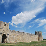 La cité de saint Louis et ses remparts. by  - Aigues-Mortes 30220 Gard Provence France