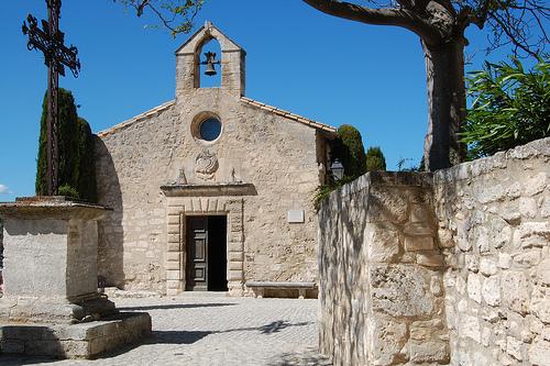 Eglise - Les Baux de Provence by GlennAlexander2010