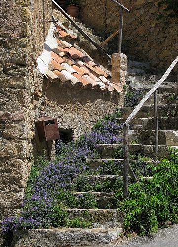 Escaliers à Tourtour par mistinguette18