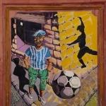 Peinture : dans les rues de Marseille par Brigitte Mazéas - Marseille 13000 Bouches-du-Rhône Provence France