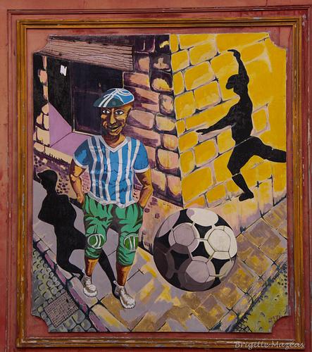 Peinture : dans les rues de Marseille par Brigitte Mazéas