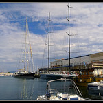 Voiliers au port de la Ciotat by J@nine - La Ciotat 13600 Bouches-du-Rhône Provence France