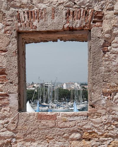 Voiles du port d'Antibes par brunomdl