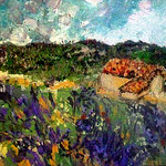 Painting : provence lavender fields par photoartbygretchen -   provence Provence France