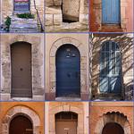Portes provençales / Provencal doors by Brigitte Mazéas -   provence Provence France