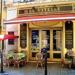 Aix en Provence : Café Le Vitelle by photoartbygretchen - Aix-en-Provence 13100 Bouches-du-Rhône Provence France