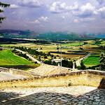 Vue depuis Rousillon par photoartbygretchen - Roussillon 84220 Vaucluse Provence France