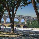 Pont du Gard par photoartbygretchen - Vers-Pont-du-Gard 30210 Gard Provence France