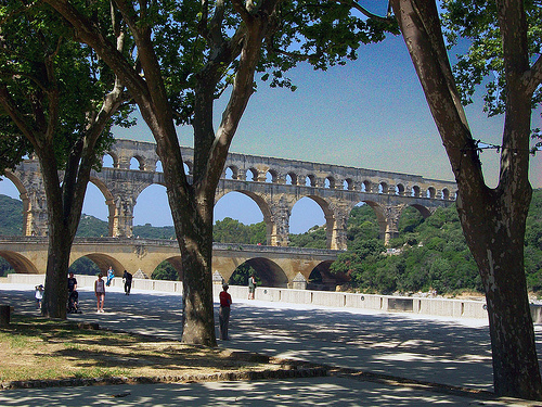 Pont du Gard par photoartbygretchen
