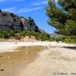 Paysage désertique par Corsikon - Cassis 13260 Bouches-du-Rhône Provence France