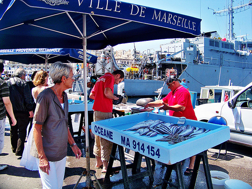 Marseille Fish market by photoartbygretchen