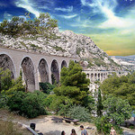 Provence Bridge par photoartbygretchen -   provence Provence France
