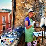 Stage de Peinture à Roussillon par photoartbygretchen - Roussillon 84220 Vaucluse Provence France