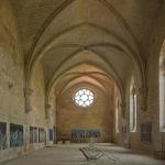 Réfectoire de l'Abbaye de Silvacane par  - La Roque d'Antheron 13640 Bouches-du-Rhône Provence France