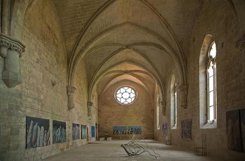Réfectoire de l'Abbaye de Silvacane par Jacqueline Poggi