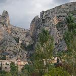 Le village de Moustier Sainte Marie par Marcxela - Moustiers Ste. Marie 04360 Alpes-de-Haute-Provence Provence France