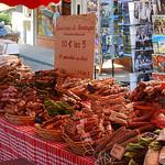Charcuterie at Bedoin Market by Marcxela - Bédoin 84410 Vaucluse Provence France