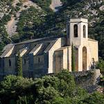 Eglise d'Oppède-le-vieux par Aschaf - Oppède 84580 Vaucluse Provence France