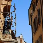 Statue de la vierge à Aix-en-Provence by Aschaf - Aix-en-Provence 13100 Bouches-du-Rhône Provence France