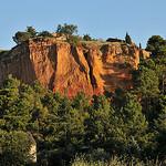 Falaise ocre de Roussillon par :-:claudiotesta:-: - Roussillon 84220 Vaucluse Provence France