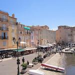 Les façades de Saint-Tropez par phileole - St. Tropez 83990 Var Provence France