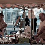 Rires au marché de Toulon par Macré stéphane -   provence Provence France